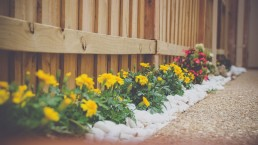 flowerbed; landscaping services