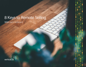 Jack Jubbard remote selling webinar