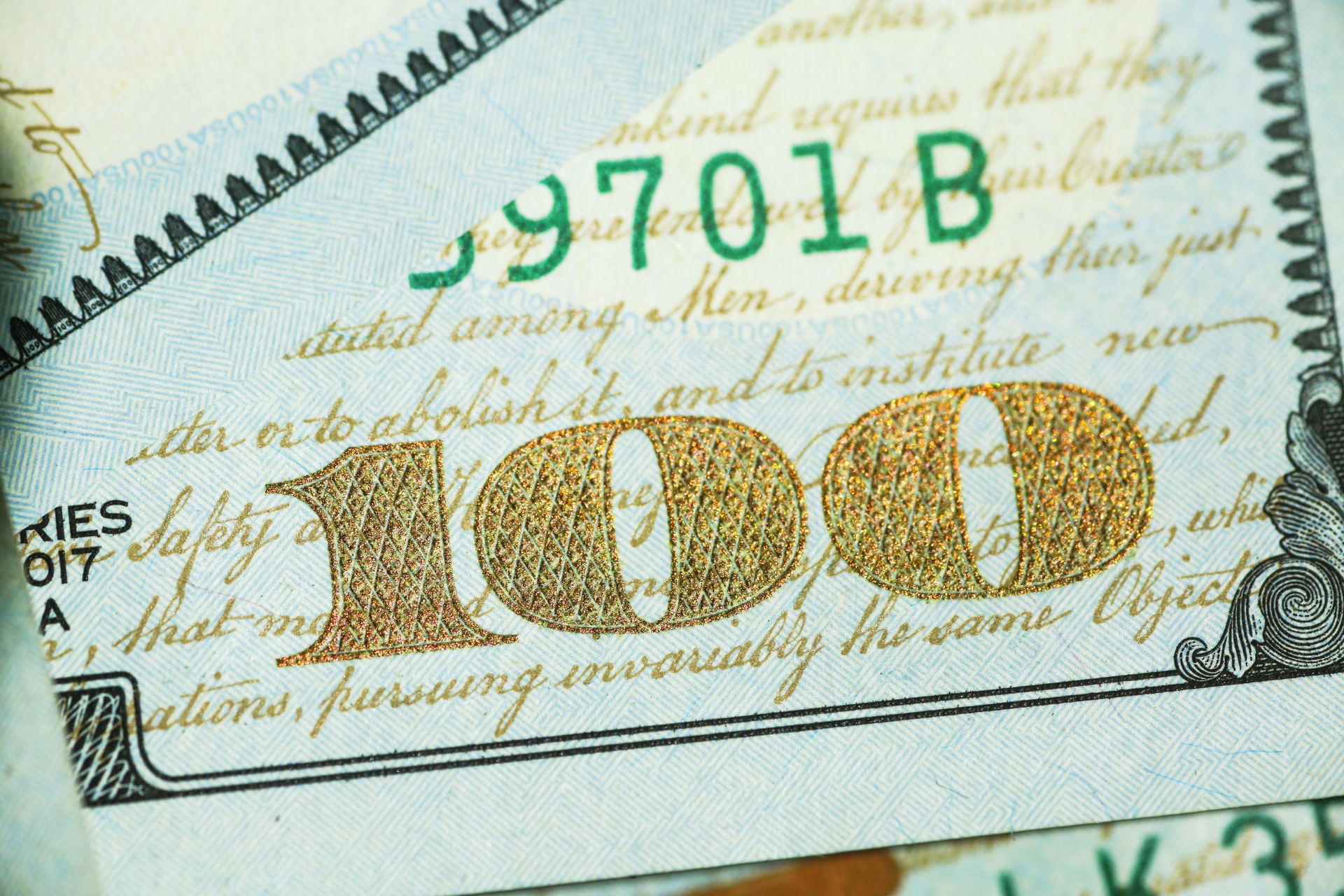 treasury management ; close-up of money